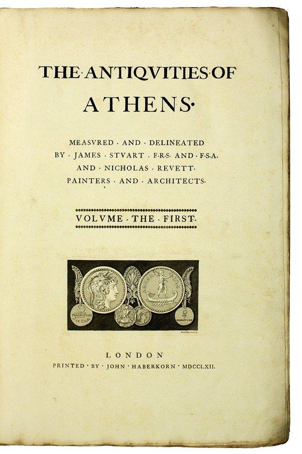 2081: Antiquarian book, Antiquities of Athens, Volume 1