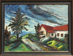 Painting, Brother Kyran Aviani, Assumption Hall