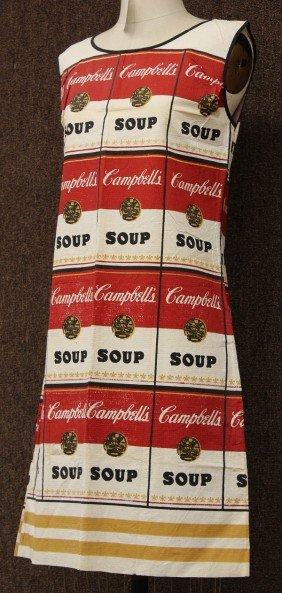Souper Dress, After Andy Warhol, Campbells