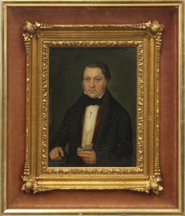 2111: Pair of portraits, German School, 19th c.