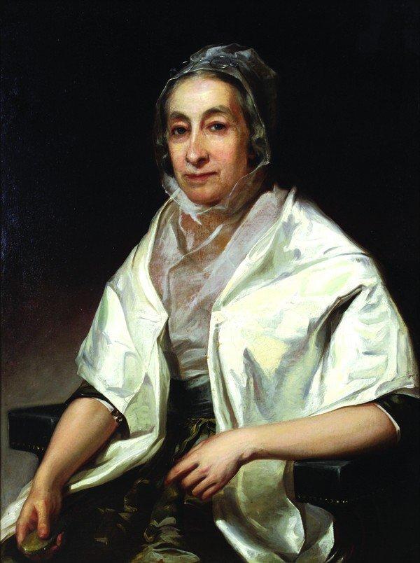 2112: Painting, Thomas Sully, Mrs. Hannah Saunders