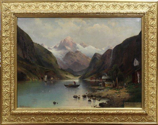 2121: Painting, Karl Kaufmann, Norway