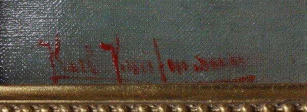 2121: Painting, Karl Kaufmann, Norway - 2