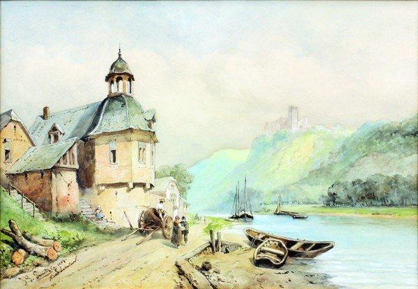 2123: Watercolor, Jan Gerard Smits