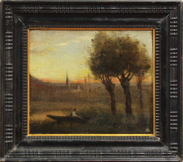 2126: Painting, follower of Corot