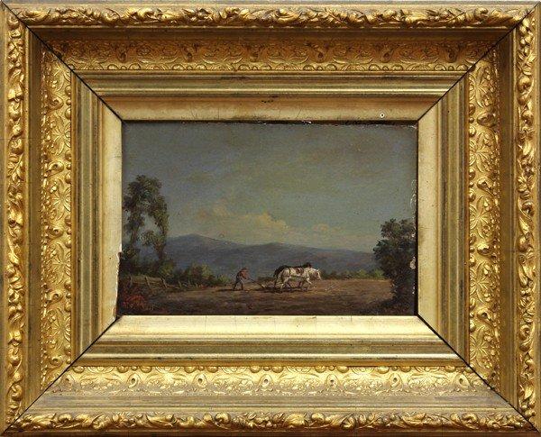 2133: Painting, Hudson River School, circa 1850s