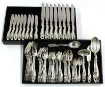 2543: Gorham sterling flatware service