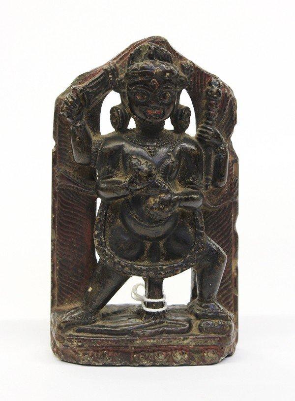 4: Himalayan Stone Dharmapala Figure