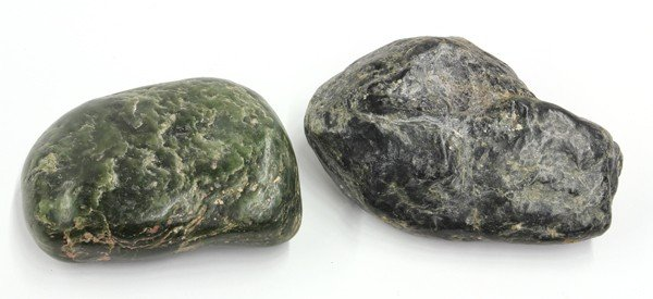 21: Two Small Jade Boulders