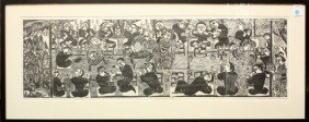 Japanese Sosaku Print, Kazumi Amano