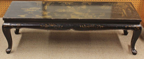 108: Chinese Gilt Lacquered Low Table