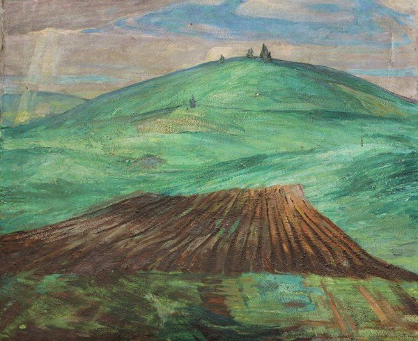 471: Painting, Russell Hyde, Rolling Hill