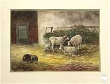 543: Watercolor, Hugo Anton Fisher