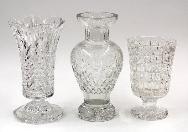6002: Crystal vases