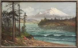 6239: Painting, John Englehart, Mt. Hood