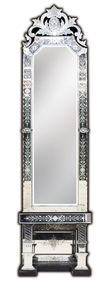 6324: Venetian pier mirror