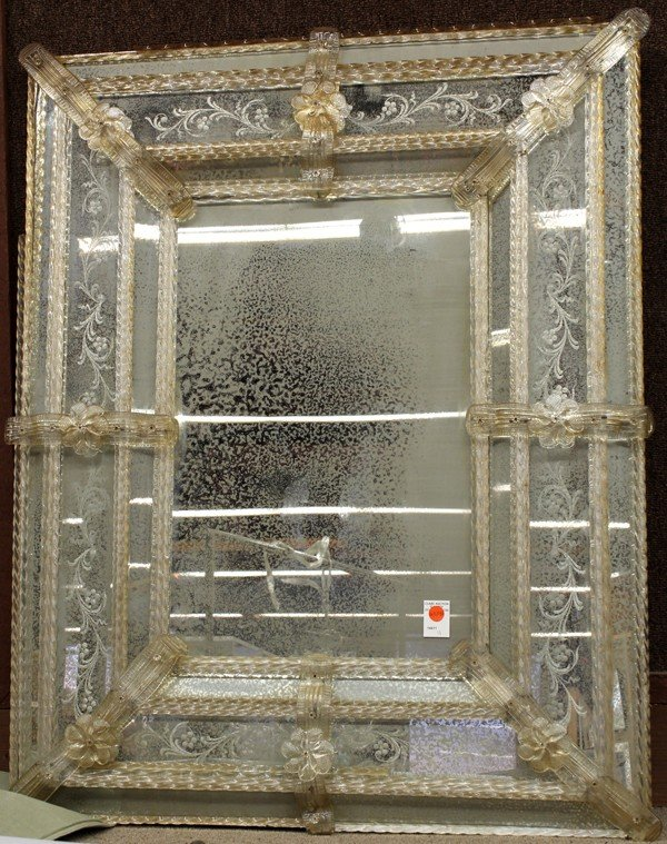 6324A: Venetian wall mirror
