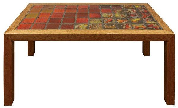 6333: Edith Heath tile top table