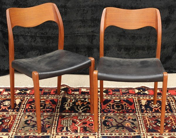 6335: J.L. Moller dining chairs