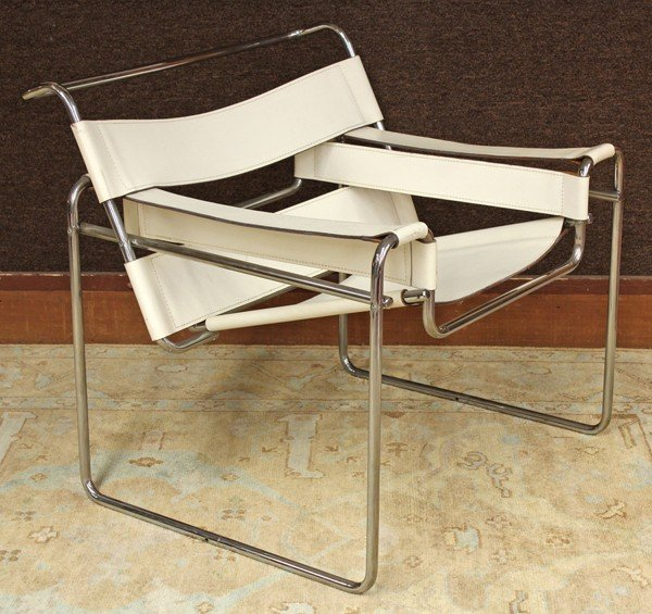 6339: Marcel Breuer, Wassily style chair