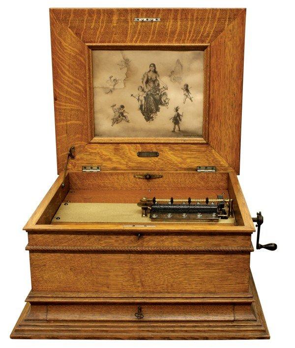 6341: Victorian Regina music box