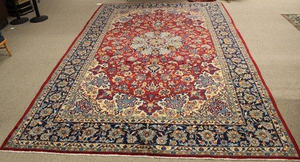 6346: Persian Isphahan rug