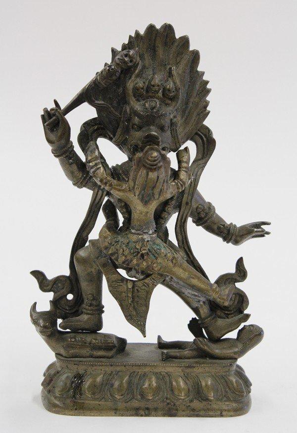 1: Nepalese Bronze Yamataka