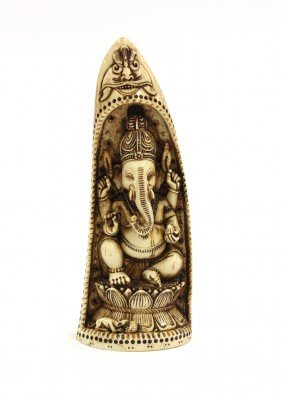1A: East Indian Ganesh Figure
