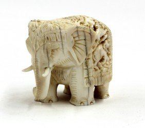 5: East Indian Elephant Figure
