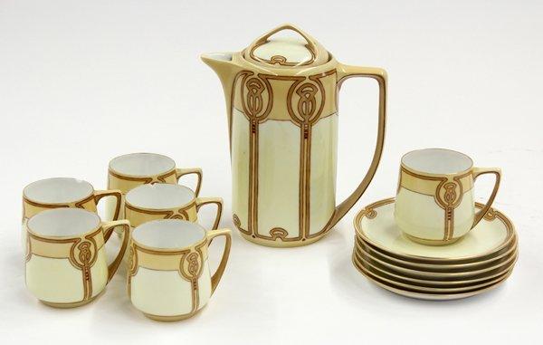 2001: Rosenthal Art Deco Cocoa Set