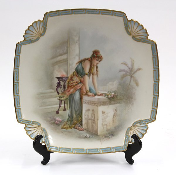 2003: French porcelain charger