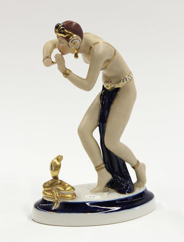 2010: Royal Dux figural group
