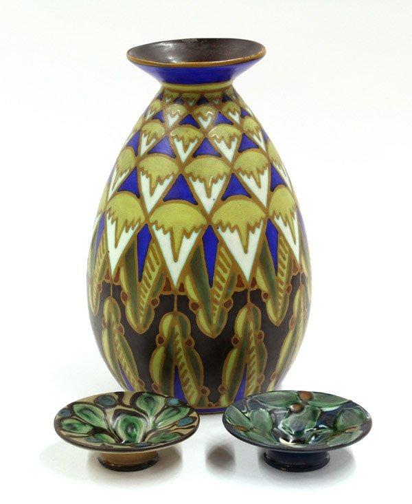 2012: Boch Freres Keramis vase