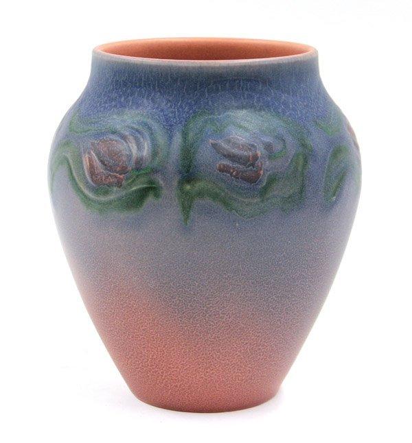 2021: Rookwood artist decorated vase