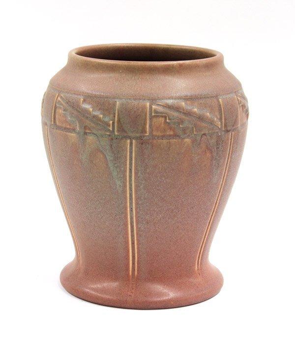 2022: Rookwood art pottery vase