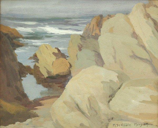 2170: Painting, Mary DeNeale Morgan, Carmel