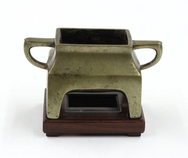 3041: Chinese Small Bronze Censer