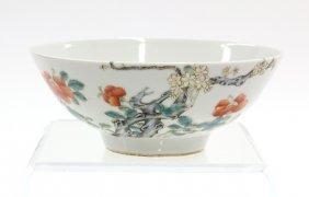 12: Chinese Enamled Porcelain Bowl