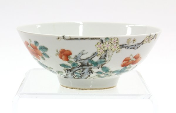 12: Chinese Enamled Porcelain Bowl