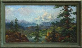 146 Painting Ruth Kate Felter Landscape