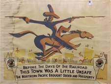 232: Original Northern Pacific Railroad Posters