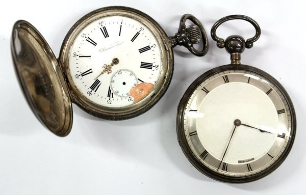 668: Two pocket watches
