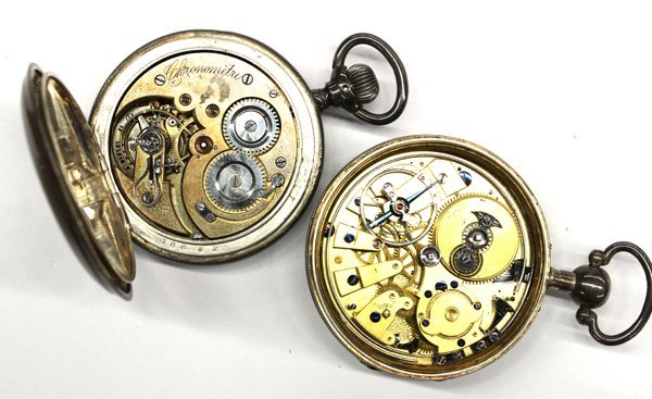 668: Two pocket watches - 2