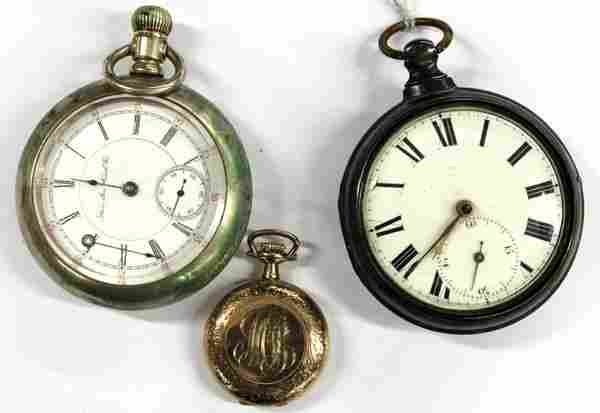 669: Three pocket watches