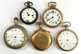 670: Group of pocket watches
