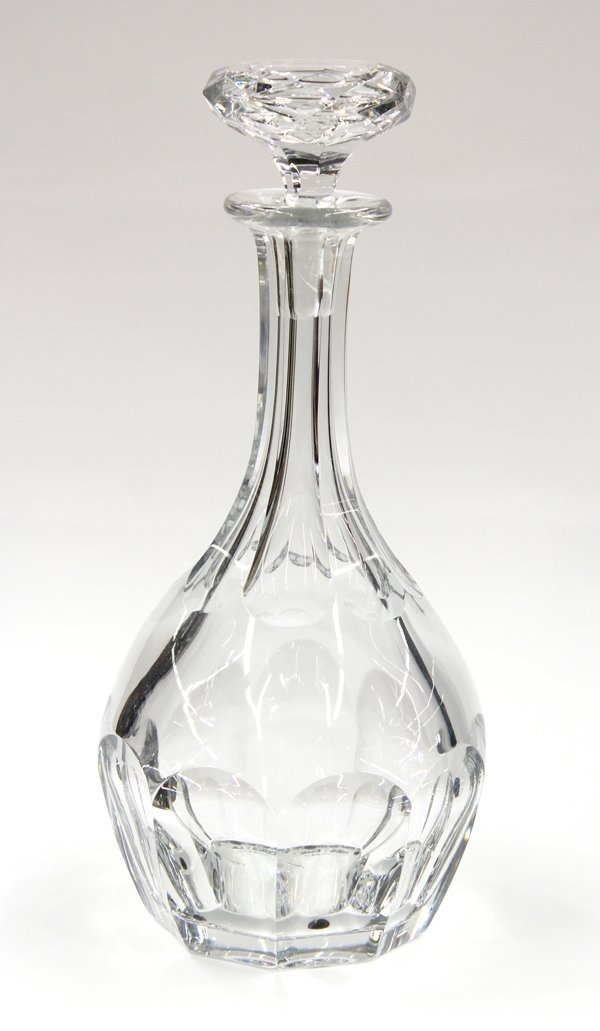 6000: Baccarat crystal decanter