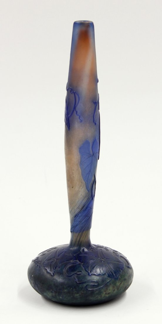 6005: Galle cameo glass vase