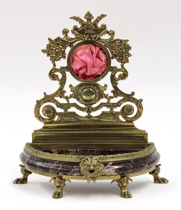 6014: Renaissance style pocket watch holder