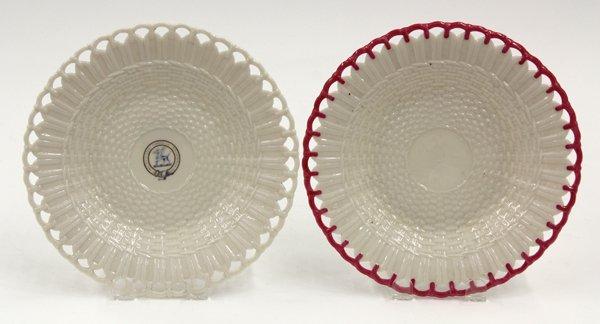 6015: Belleek cabinet plates
