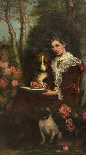 Painting, Henry Hetherington Emerson, Companions